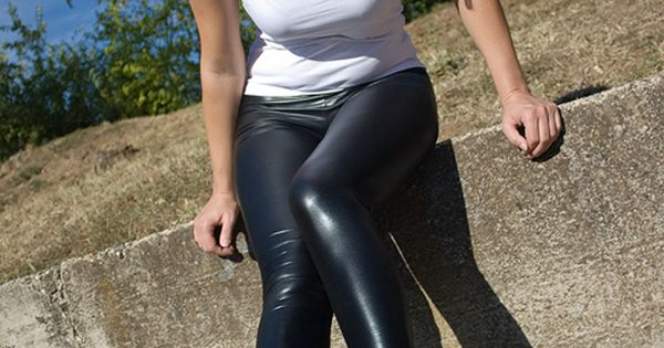 Liquid leggings and sneakers #wetlook #Caliope | The Future is Bright | Pinterest