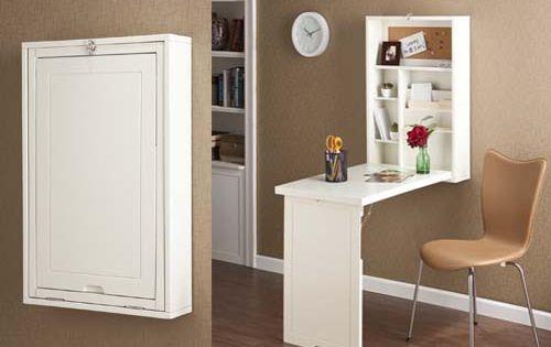 Un mueble escritorio perfecto para espacios peque os - Escritorios para espacios pequenos ...