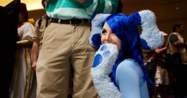Halloween Costume: Blues Clues couple