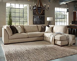 Malakoff 2 Piece Sectional Ashley Furniture Sectional Living Room Sofa Home
