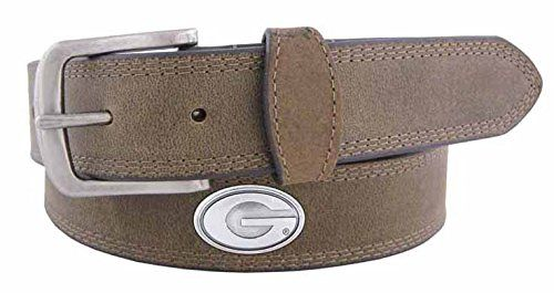 NCAA Florida Gators Light Crazy Horse Leather Concho Belt