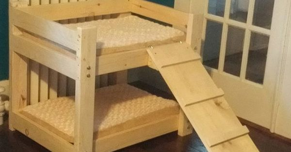 Dog pet bunk bed with ramp free shipping by for Ikea ship to new zealand