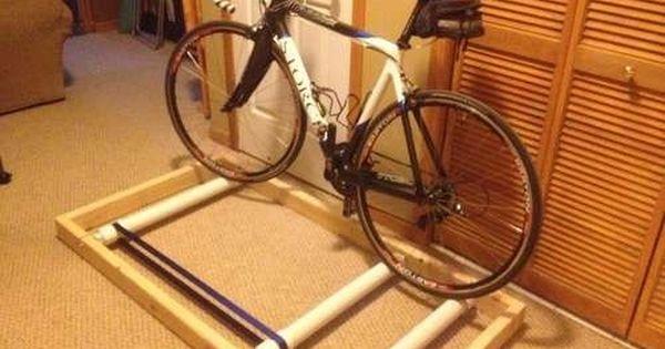 Diy Bike Trainer Bike Rollers Bicycle Rollers Bicycle