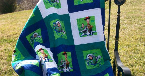 Quilt Toy Story Baby Toddler Child 52 Quot X62 Quot Free Shipping