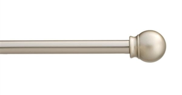 Style Selections 48 In To 84 In Steel Single Curtain Rod Lowe S
