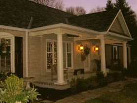 Adding A Front Porch To The Front Of Your Flat House House With