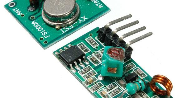 Mhz rf transmitter with receiver kit for arduino arm