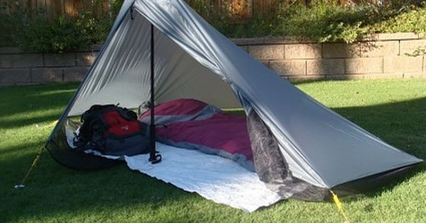 Make your own tarp tent for under twenty dollars for Build your own canvas tent
