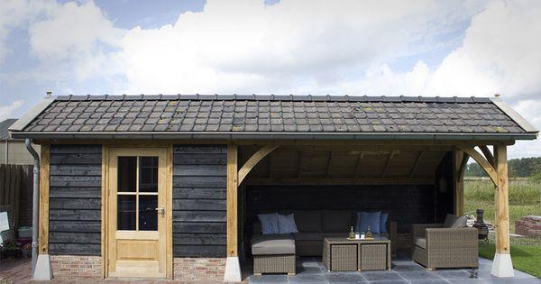 Bekijk onze gerealiseerde buitenverblijven van o a tuinhuizen en schuren wij ontwerpen en - Wijnstokken pergola ...