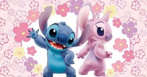 Images Of Stitch And Angel Wallpaper