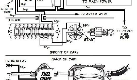Wiring An Electric Fuel Pump