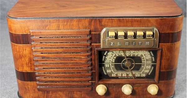 zenith 6 s 527 1941 old zenith radios pinterest. Black Bedroom Furniture Sets. Home Design Ideas