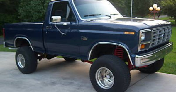 1986 Ford F 150 4x4 Lifted 1986 Ford F150 4x4 Lifted 5 0 Ltr Fi 6 Inch Lift Blue Photo 14 Classic Ford Trucks Lifted Ford Trucks Ford Trucks