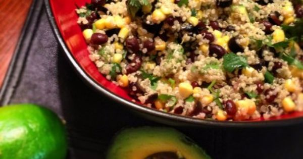 Zesty Avocado Lime Quinoa- Tried this last night as a cool side