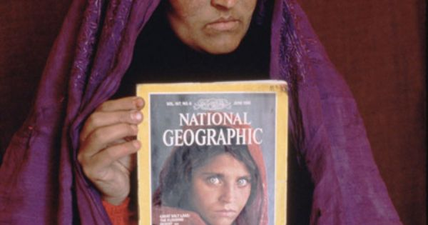 Remember this? Sharbat Gula was photographed as a young girl while she