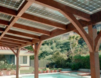 Patio Cover Design Ideas Pictures Remodel And Decor Solar Pergola Solar Patio Solar Panels Roof