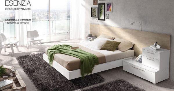 El mobiliario de dormitorio de baixmoduls respira una for Mobiliario dormitorio
