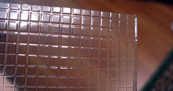 Clear Plastic Sheet Embossed With 1 4 Inch Square Tiles From Miniatures Com You Paint The Underside An Clear Plastic Sheets Plastic Sheets Gloss Spray Paint