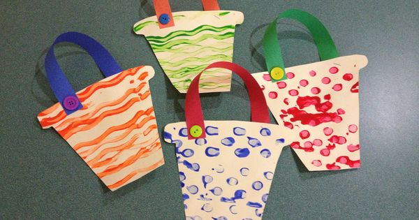 Make These Sand Pails For Your Beach Theme. Cut Out Pail