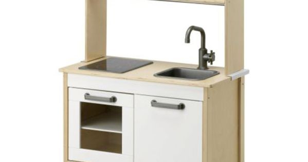 Ikea Duktig Mini Kitchen Birch Plywood White