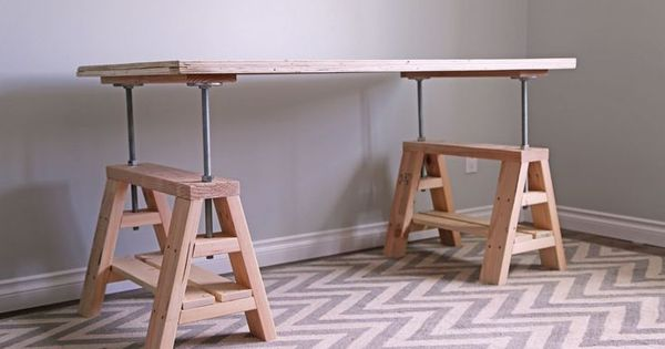 Temporary Work Surface Or Assembly Table And Sturdy Saw