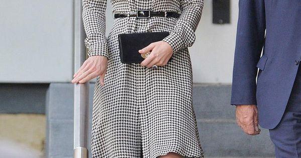 Duchess of Cambridge silk Ralph Lauren shirt dress
