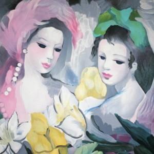 Aquarelles De Marie Laurencin Art Et Illustration Papier Peint