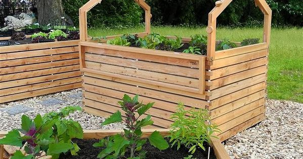 Mini Greenhouse - raised garden beds Maybe a raised bed that has