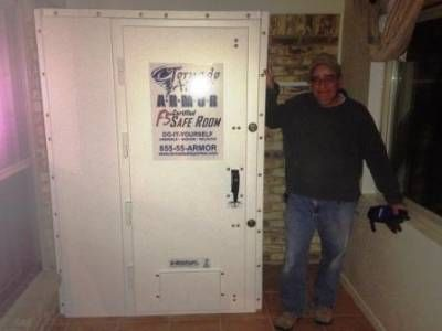 I Have A Ceramic Tile Floor Inside My Home And Want To Have A Tornado Storm Shelter Installed On Top Of It I Want A Bolt Together Above Ground Steel Safe Room