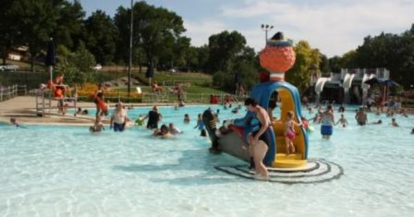 Terrace Park Family Pool Aquatic Center Offers Shallow To Deep Pools Drop Off Slides And Tube