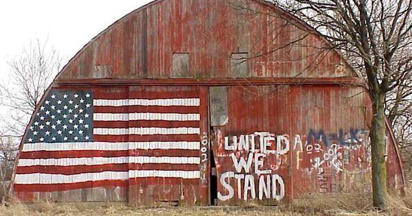 American flag barn :)