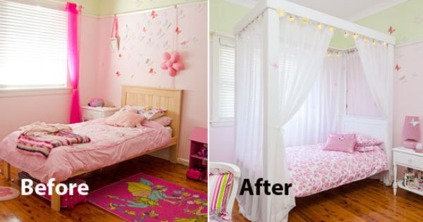 How To Make A Four Poster Princess Bed For The Home