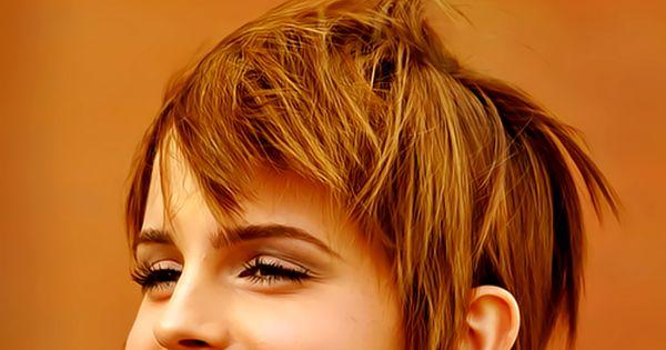 Emma Watson's super cute hair cut
