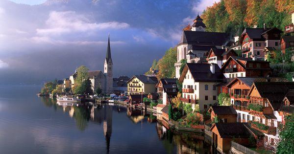 Halstatt, Austria Photo by John & Deb Scanlan