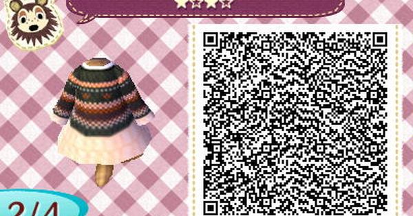 New Leaf Qr Codes With Images Animal Crossing Qr Coding