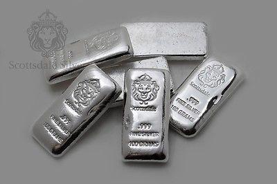 Silver Bar By Scottsdale Mint