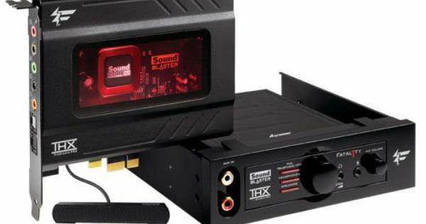 Sound Cards Sound Blaster Creative Sound Sound Card