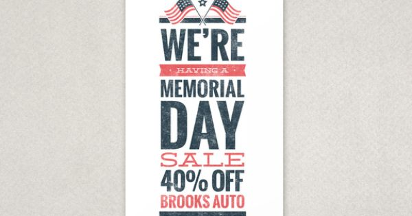 memorial day banner graphics