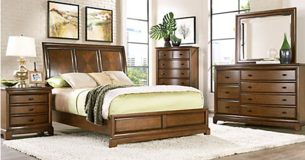 Place 5 Pc Queen Panel Bedroom at Rooms To Go. Find Bedroom Sets ...