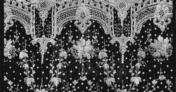 alen on lace this the most elaborate needle point lace which has ever been produced in france. Black Bedroom Furniture Sets. Home Design Ideas