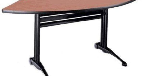 Love Half Moon Desks Dark Brown Furniture White Zebra Desk And Chair Set