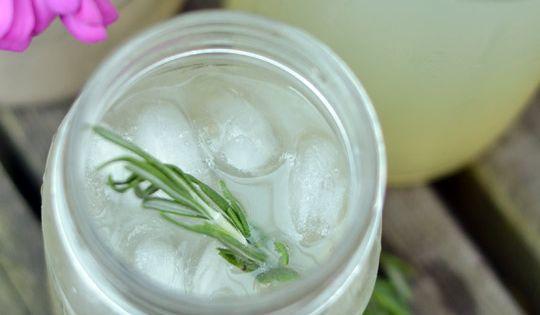 Rosemary lemonade, Limeade recipe and Gin on Pinterest