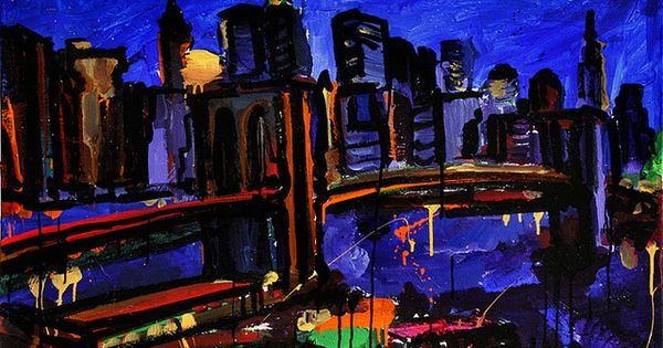 The Night Seemed Alive With Golden Butterflies Painting Urban Life Painter