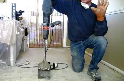 How To Remove Tile Mastic Or Thinset The Easy Way Be