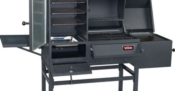 Outdoor Gourmet 174 Triton Charcoal Vertical Smoker And Grill