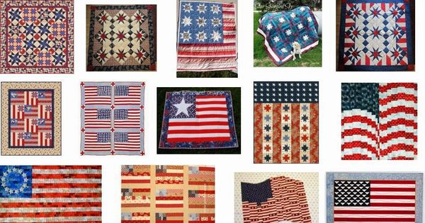 flag day quilt