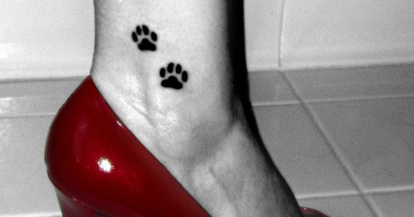 dog paw tattoo - Google Search
