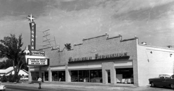 Pigskin Manhattan Furniture Store At 2600 E Admiral Pl Tulsa And Oklahoma Pinterest