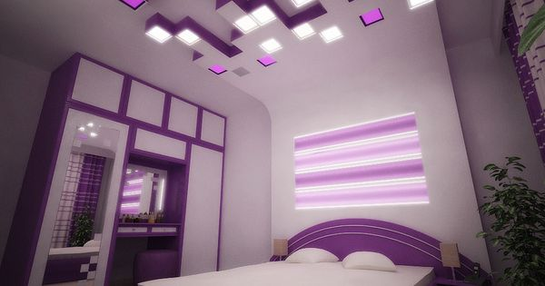 violet bedroomivan zhivov, via behance | dramatic contemporary
