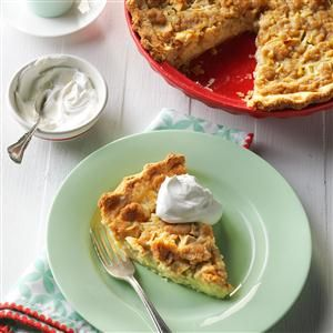 Sour Cream Apple Pie Recipe Delicious Desserts Sour Cream Apple Pie Apple Pie Recipes